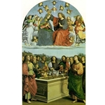 The Coronation of the Virgin, Raphael