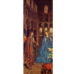 The Annunciation, c. 1435, Jan Van Eyck
