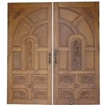 Hand Carved Door - Solid Teak