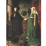 The betrothal of the Arnolfini, 1434, Jan van Eyck