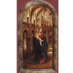 Madonna in the Church c. 1425 Jan Van Eyck