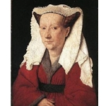 Portrait of Margareta van Eyck 1439 Jan van Eyck