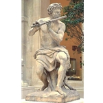 The flute-playing Shepherd Antoine Coysevox Lyon 1640-Paris 1720