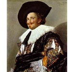 The Laughing Cavalier Frans Hals