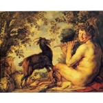 Satyr and Peasant, c. 1620-21, Jacob Jordaens
