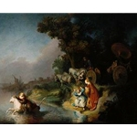 The Abduction of Europa Rembrandt van Rijn