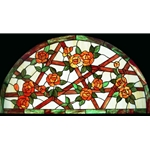 Stained window glass panel LTSP21R-43∕39A