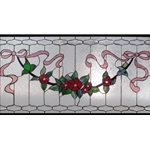 Stained window glass panel LTSP19-39∕92-2