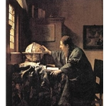 The Astronomer c. 1668 Jan Vermeer