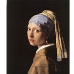 Girl with a Pearl Earring, c. 1665-1666, Jan vermeer