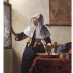 Young Woman with a Water Jug, 1660-62, Jan Vermeer
