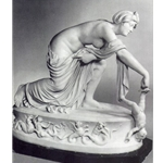 Thetis Dipping Achilles in the River Styx Marble Sculpture by Thomas Banks