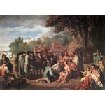 The Treaty of Penn with the Indians.1771-72, Benjamin West