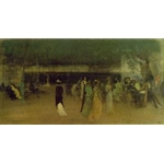 Cremorne Gardens, 1872-77, James Abbott McNeill Whistler