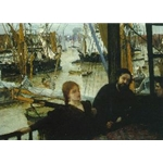 Wapping, 1860-4, James Abbott McNeill Whistler