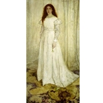 Symphony in White, No. 1: The White Girl, 1862, James Abbott McNeill Whistler