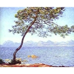 Antibes painted 1888