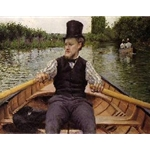 Boating Party, or Oarsman in a Top Hat,1877/78