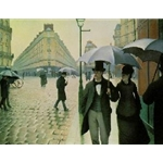 Gustave Caillebotte Rainy Day