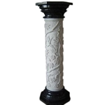 Carved Pedestal bi-color-02