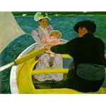 The Boating Party, Mary Cassatt, 1893-94