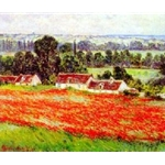 Field of Poppies Claude Monet