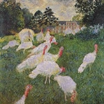Les dindos The Turkeys Claude Monet