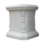 Fancy Carved Pedestal LC-6