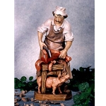 Woodcarving Butcher