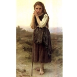 Little Shepherd William Bouguereau