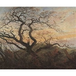 The Tree of Crows 1822 Caspar David Friedrich