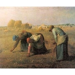 The Gleaners Jean-Francois Millet 1857