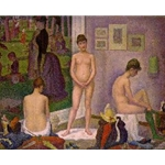 The Models large version 1887-88 Georges-Pierre Seurat