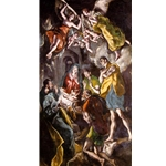 The adoration El Greco