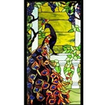 Tiffany stained glass window panel