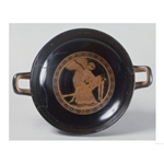 Kylix-The Douris Cup, an Attic Red-Figure Cup of Eos Carrying the Body of Her Son Memnon