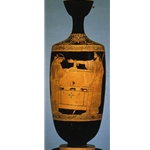 Danae Beside Chest Lekythos