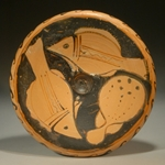 Campanian Red-Figure Fish Plate