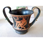Red-Figure Kantharos (Wine Cup)