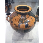 Red Figure Water Jar Kalpis