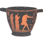 Attic Red Figure Skyphos