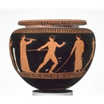 Dinos Bowl Depicting Athletes Training