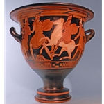 Bell krater Group of Amazons