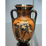 Neck Amphora Aeneas Rescuing his Father