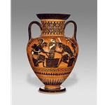 Neck Amphora Achilles and Ajax