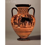 Neck Amphora Chariot and Horses