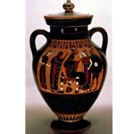 Belly Amphora Birth of Athena