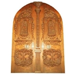 Antique Roman Double Door