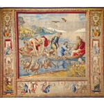 The Miraculous Draft of Fishes. Design by Raphael 1516