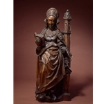 Saint Barbara, 16th century, Flemish